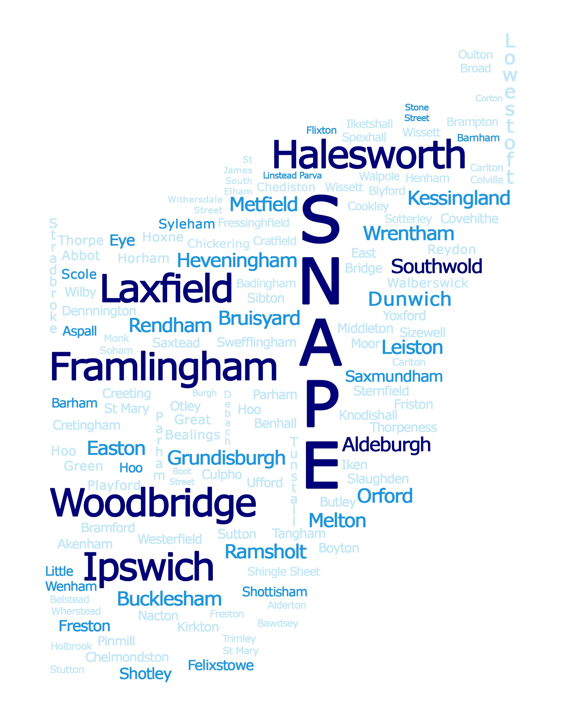 Suffolk Word Cloud